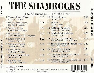 The Shamrocks (UK) -  The Shamrocks (The 60's Beat)