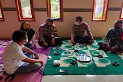 Jelang Pilkades, Anggota Polsek Pamarayan bersama Anggota Koramil Sambangi Cakades Untuk Sampaikan Pesan Kamtibmas