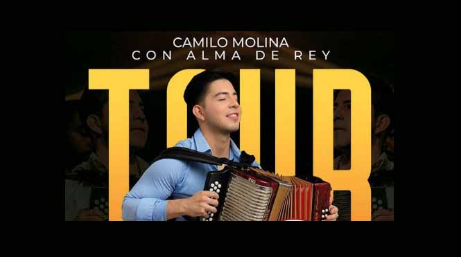 Camilo Molina con alma de REY
