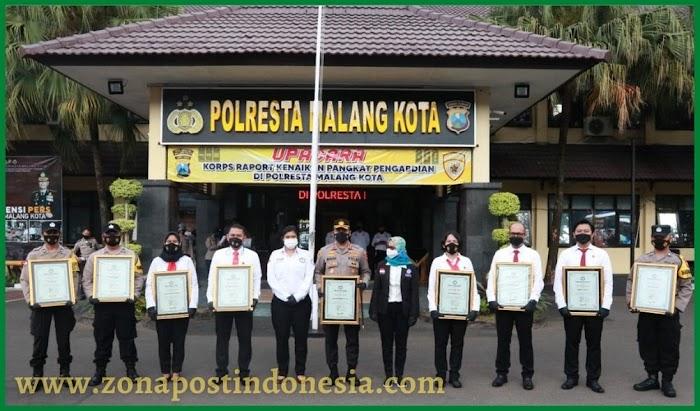 Polresta Malang Kota Raih Penghargaan dari Komnas TRC Perlindungan Perempuan dan Anak
