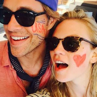 Cassidy Boesch clicking selfie with hubby Sam