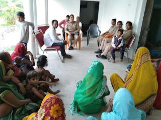 रामनगर गाँव में चला महिला जागरुकता अभियान | #NayaSaberaNetwork