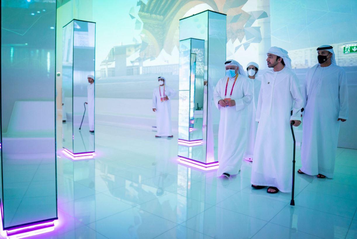 عبدالله بن زايد يزور جناح الفرص والمشاركة الخليجية المميزة في إكسبو دبي Expo Dubai الحدث العالمي