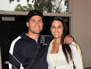 Brooke Brandt with her spouse Kyle Brandt