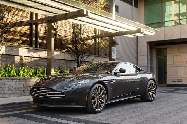 Aston Martin DBS spotted in No time to die