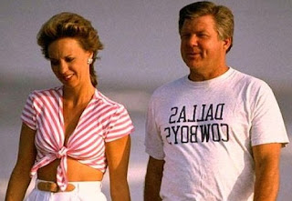 Rhonda Rookmaaker with her hubby Jimmy Johnson