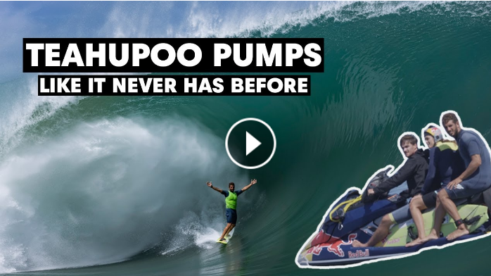 SESSIONS Day of Days at Flawless Pumping Teahupoo