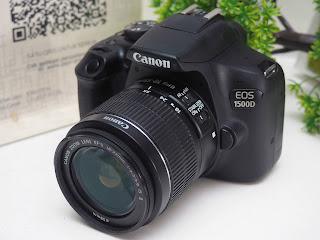 Jual Canon EOS 1500D Wifi Bekas