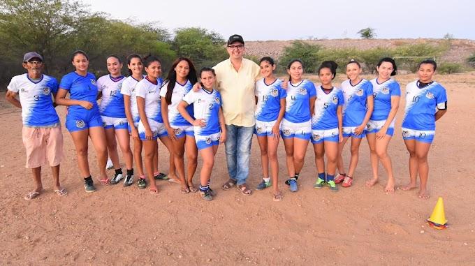 Em Ibimirim, Charles do Paulistão, cria programa para incentivar de esportes.