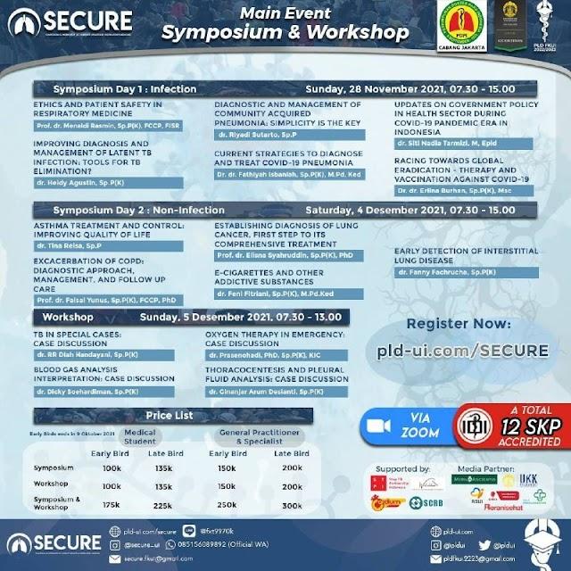(SKP IDI) The 5th Symposium & Workshop of Current Updates in Respiratory Medicine (SECURE)