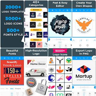 Logo Maker - Free Graphic Design and Logo Templates APK Download Free 2021