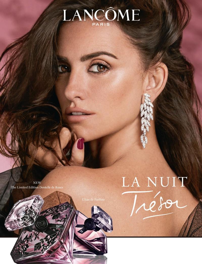 Lancome unveils La Nuit Trésor L'Eau de Parfum campaign featuring actress Penelope Cruz. Photo: Hunter & Gatti