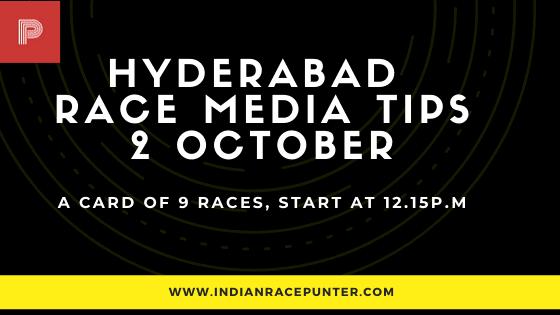 Hyderabad Race Media Tips 2 October