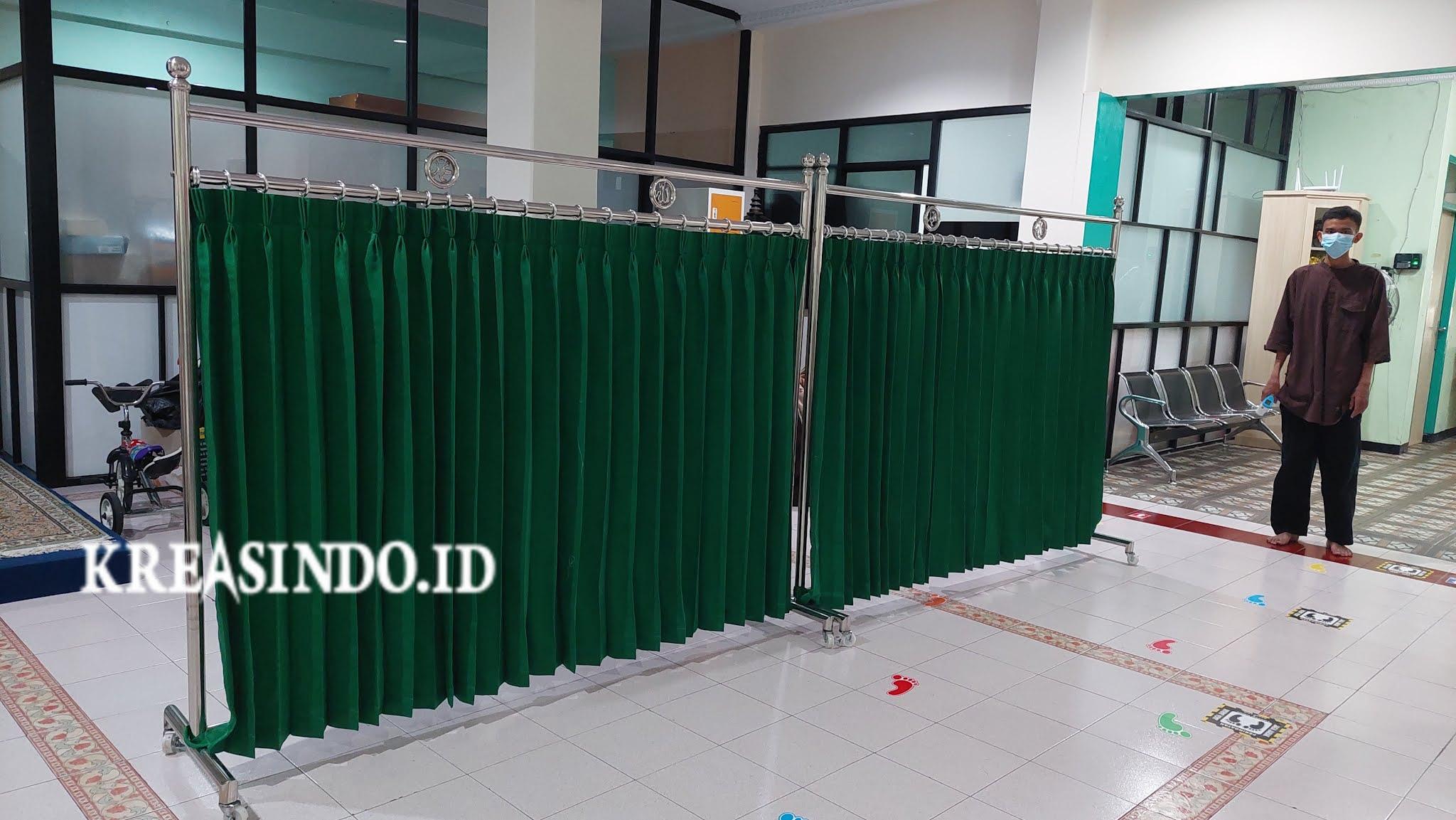 Repeat Order Keempat Hijab Masjid Stainless Pesanan Hanifah Islamic School Pamulang Tangsel