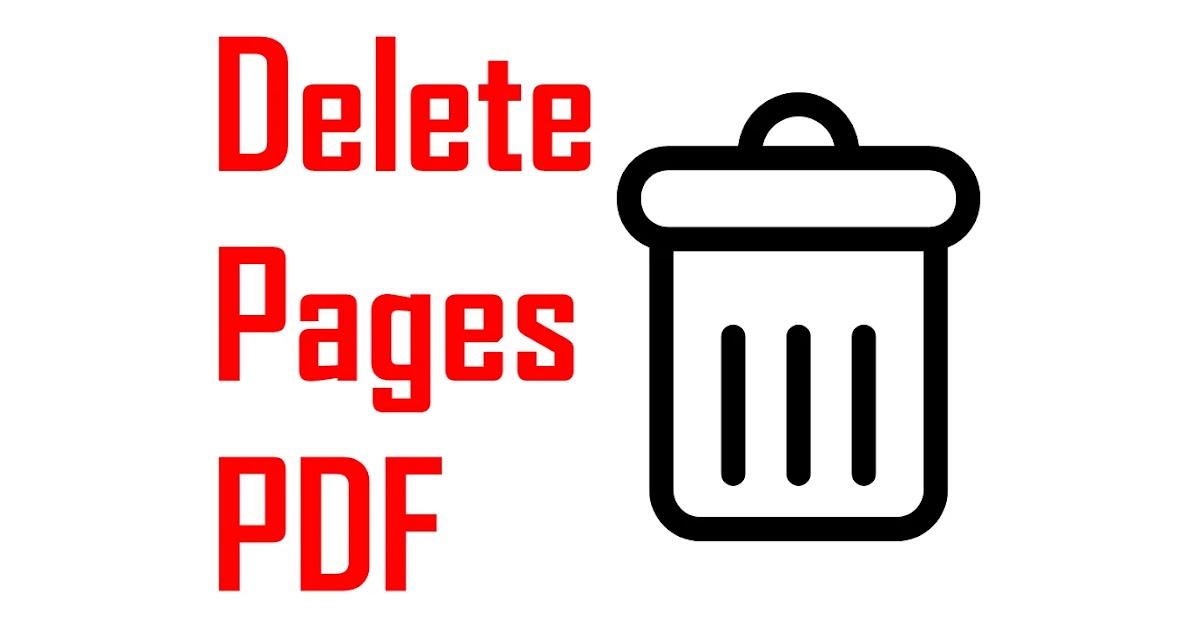 Cara Hapus Salah Satu Page PDF di Android