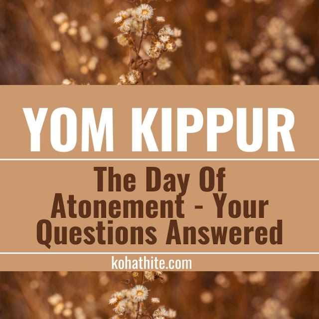 Yom Kippur | The Day Of Atonement | Your Questions Answered