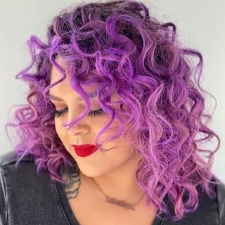 Purple Hair Aesthetic