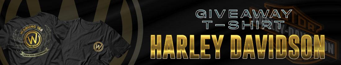 GIVEAWAY HARLEY DAVIDSON PREMIUM T-SHIRT