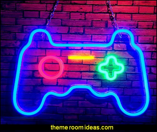 Game Neon Sign Game Neon Signs gamer room wall decor gamer playroom decor