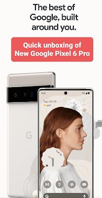 Quick writeup of New Google Pixel 6 Pro