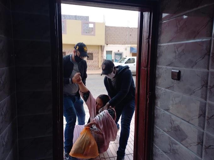 القمع المغربي يلقي بظلاله على سلطانة خيا وعائلتها: 320 يومًا من الإقامة الجبرية والتعذيب الجسدي.