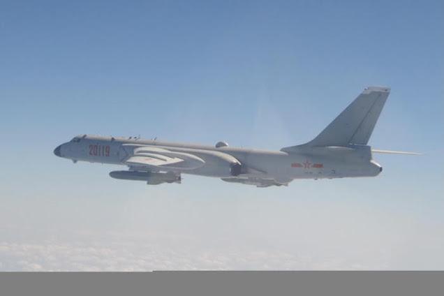 Incursione record nello spazio aereo di Taiwan di 38 caccia cinesi.