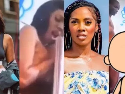 VIDEO: Tiwa Savage alleged s£xtape finally released, trending no1 online