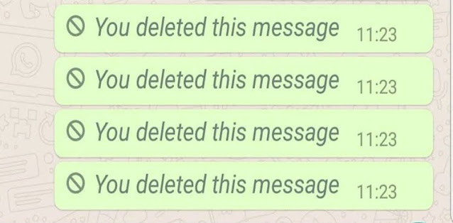 whatsapp deleted messages