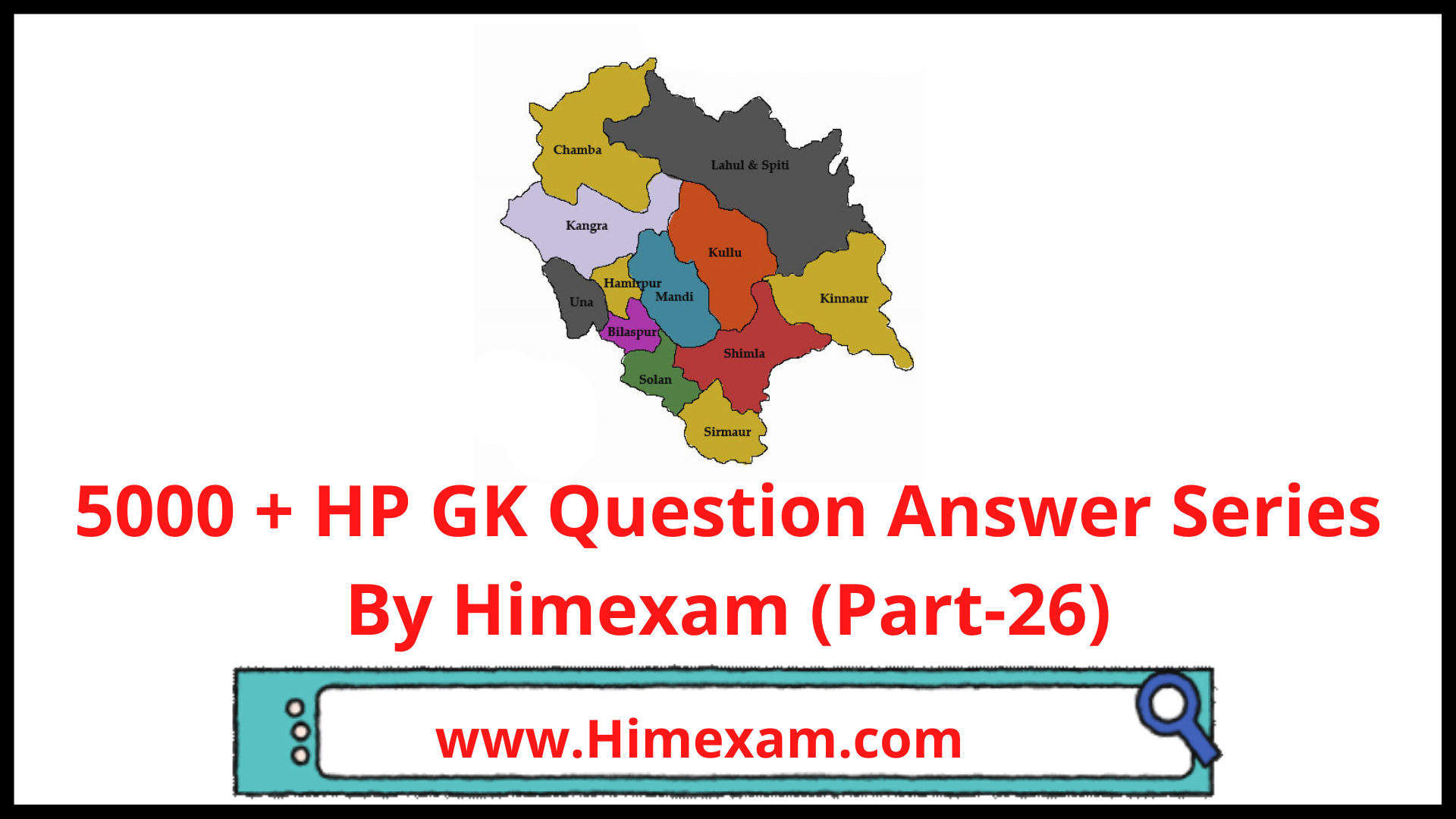 5000 + HP GK Question Answer Series By Himexam (Part-26)