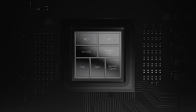 The Tensor security core is a cpu based system that's isolated