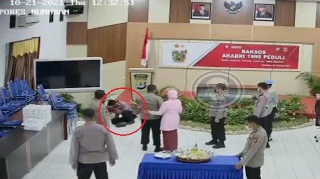 Viral Video Diduga Kapolres Nunukan Pukul dan Tendang Personelnya Sendiri