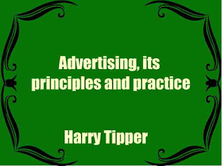 Advertising, its principles and practice