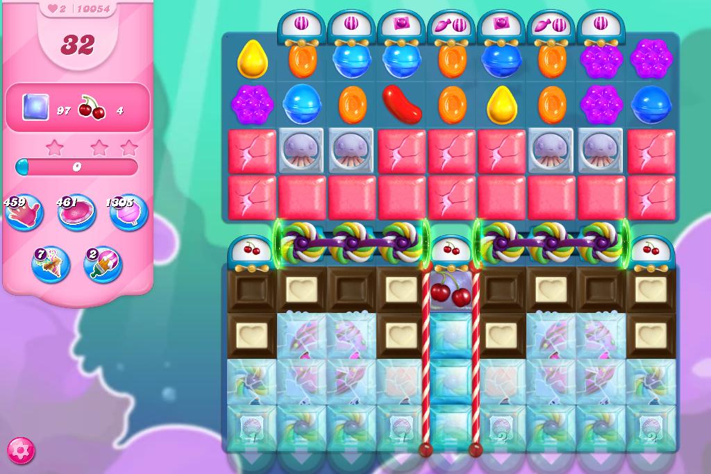 Candy Crush Saga level 10054