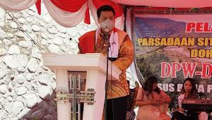 Pelantikan Parsadaan Situmorang Sipitu Ama Samosir, Bupati Samosir: Berikan Kontribusi Nyata Bangun Bona Pasogit