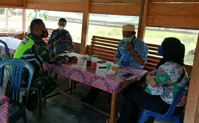 Antusias Masyarakat Desa Tanjung Sangat Tinggi Melakukan Vaksinasi Covid-19