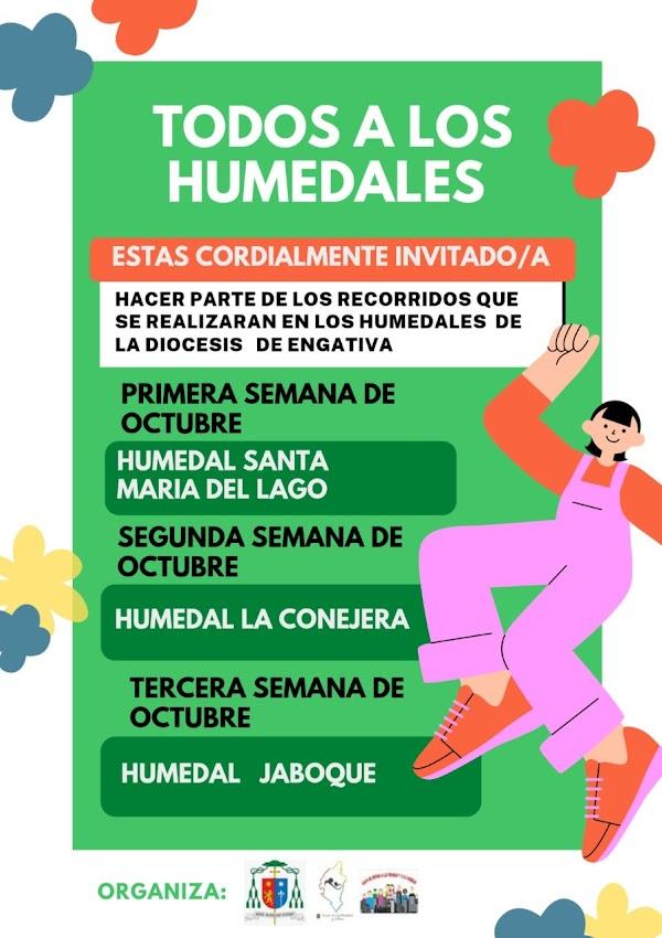 TODOS A LOS HUMEDALES