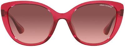 Red Pink Armani Cat Eye Sunglasses