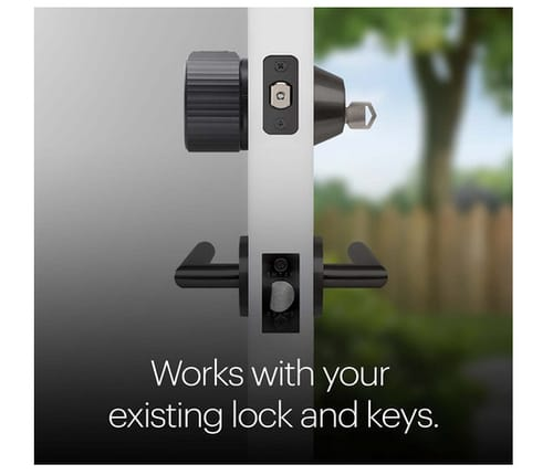August Wi-Fi  Smart Lock Fits Your Existing Deadbolt