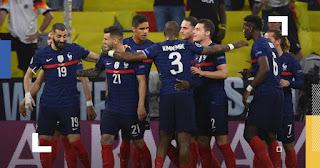موعد مباراة فرنسا واسبانيا اليوم 10-10-2021 في دوري الامم الاوروبية