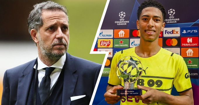 Ex-director Paratici reveals how close Jude Bellingham came to signing for Juventus
