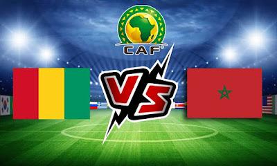 غينيا و المغرب بث مباشر