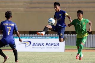 Tim Sepak Bola Sumut Takluk dari Aceh di PON XX Papua