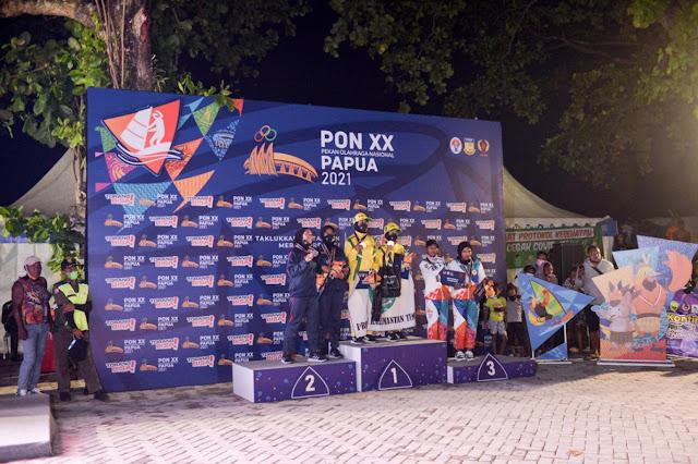 Kalimantan Timur Juara Cabor Layar PON XX dengan 9 Medali.lelemuku.com.jpg