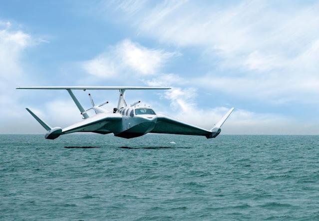 thủy phi cơ mới và các phương tiện khả năng có Cánh trên bề mặt