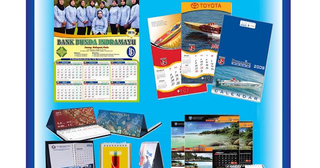 Informasi Tarif Jasa Cetak Sablon Kalender Gorontalo Unggul
