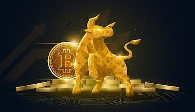 Bitcoin sobe 5%, encosta nos R$ 300 mil e volta a ter valor total de mercado de US$ 1 trilhão