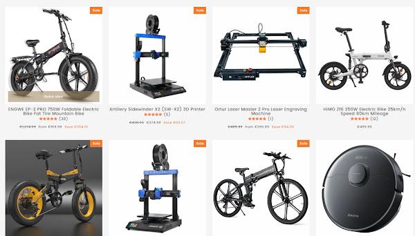 BuyBestGear - Uma boa loja para gadgets de grande dimensão
