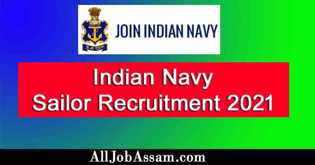 Indian Navy Sailor Recruitment 2021 – 300 Matric Recruit (MR) Vacancy