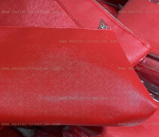 crossed pattern PU leather