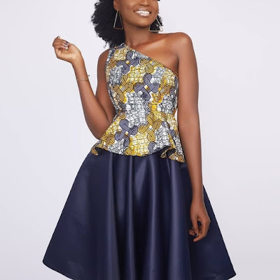 Latest Ankara Gown Styles 2022 For Ladies